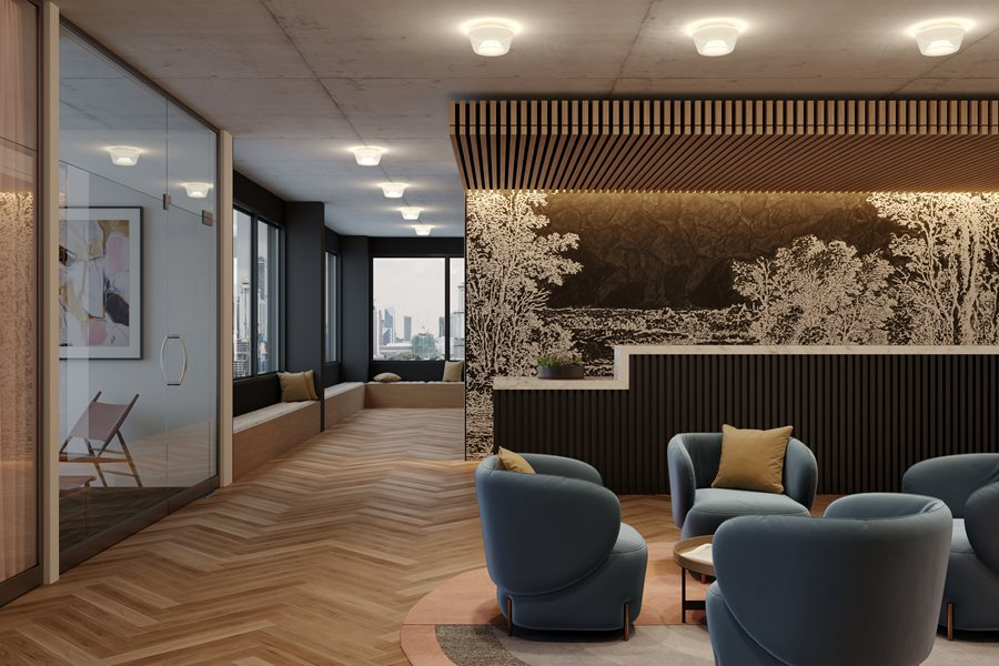 Private Office Rendering